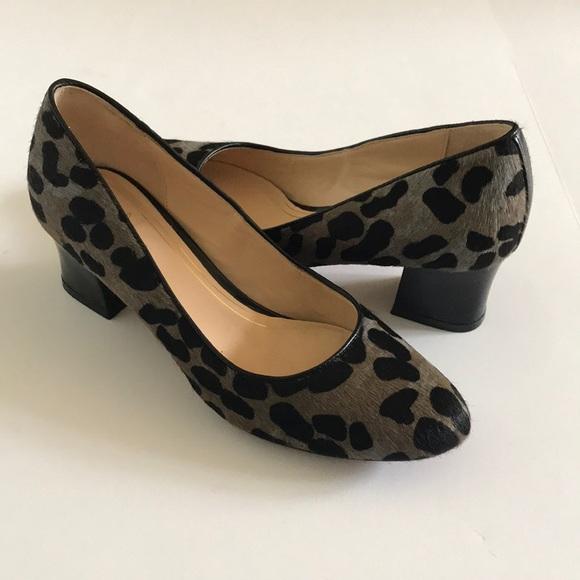 cc98fbe5c386 Cole Haan Shoes | Block Heel Animal Print Pumps | Poshmark